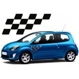 Рейсинг стикери за Renault