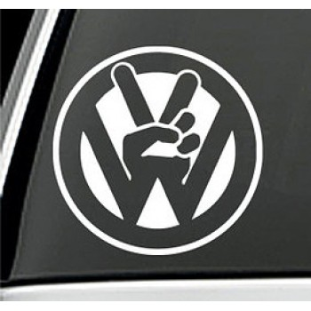 Стикер Peace за VW