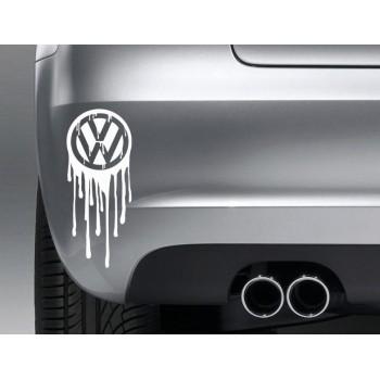 Лепенка с лого на VW