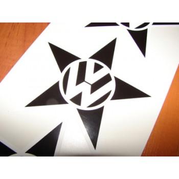 VW лого с звезда и лого