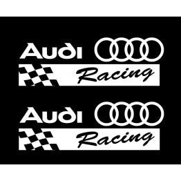 Стикер Audi Racing