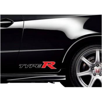 Малко лого на Honda Civic Type R