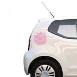 Цвете - Стикер за кола