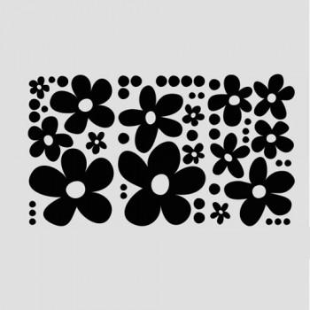 Ретро цветя и точки