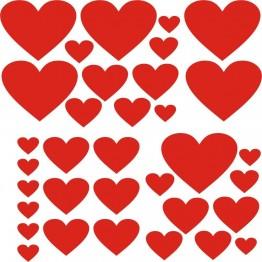 Романтичен стикер за Св. Валентин
