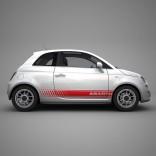 Стикери Fiat 500 Abarth 3