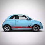 Стикери Fiat 500 Abarth 2
