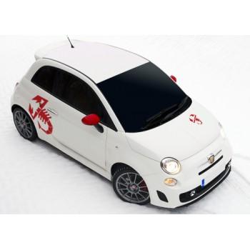 Комплект стикери Fiat 500 Abarth