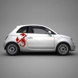 Стикер лого за Fiat 500 Abarth
