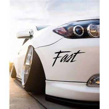 Стикер Fast