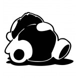 Спяща панда