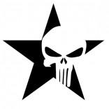 Звезда с череп