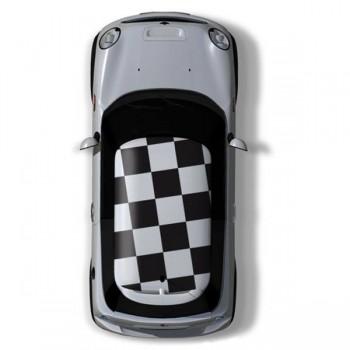 Стикери на квадрати за таван на Mini Cooper