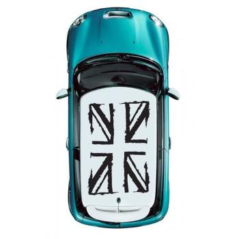 Стикер за таван Британското знаме контури