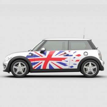 Mini Cooper - Британско знаме