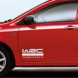 Стикер с лого WRC