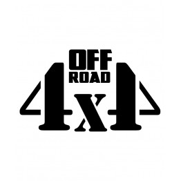 4x4 Offroad надпис 10