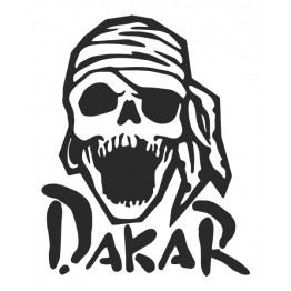 Dacar Skull стикер