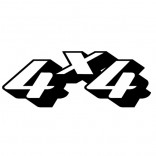 4x4 надпис