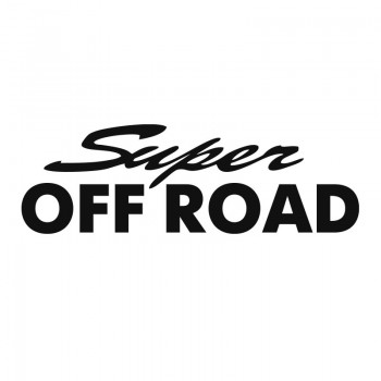 Надпис Super Off Road