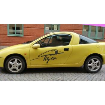 Стикер за Opel Tigra