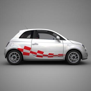 Класически Racing стикери 01