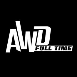 AWD Full Time стикер