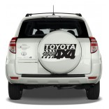 Стикер за Toyota 4x4