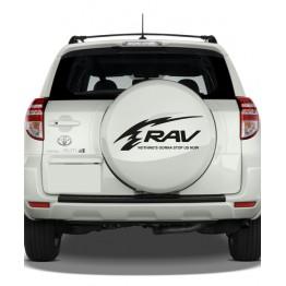 Стикер за Toyota RAV4