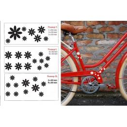 Лепенки с цветя за велосипед 2