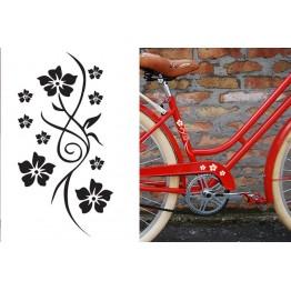 Цветя за велосипед