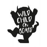 Стикер - Wild child on the board