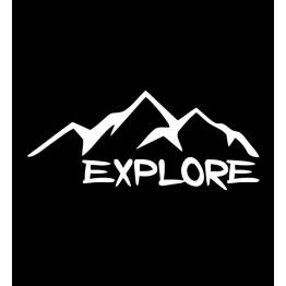 Explore надпис