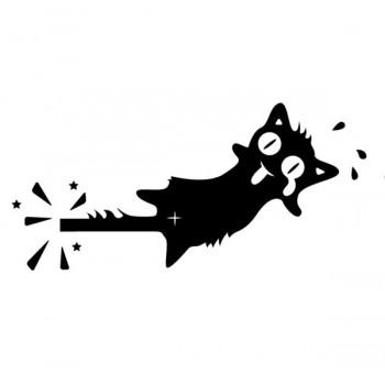 Стикер с котка